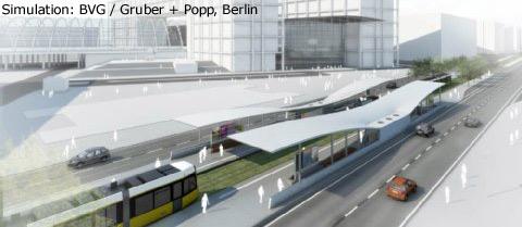 Simulation: BVG / Gruber + Popp, Berlin